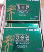 Tinh dầu thông đỏ Cheongsongwon hộp xanh Hàn Quốc